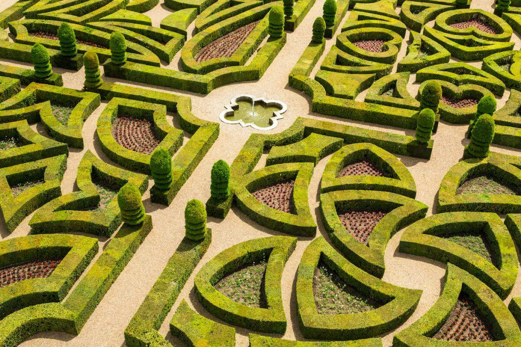 francuskie ogrody